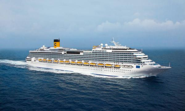 Costa Pacifica Norwegen mit Nordkap